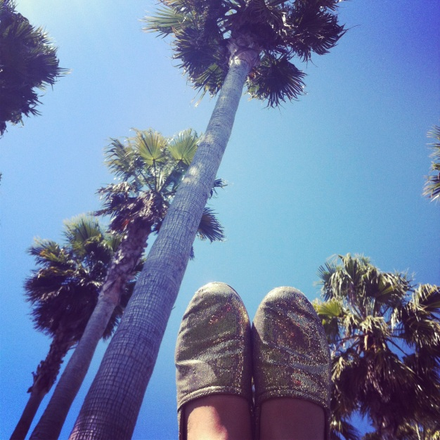 summer shoes. summer sun.